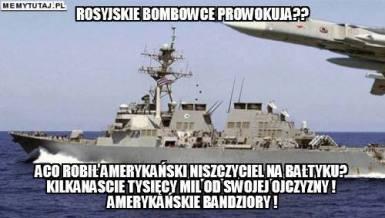 Żydowskie rządy Polski i USA prowokują Rosję.