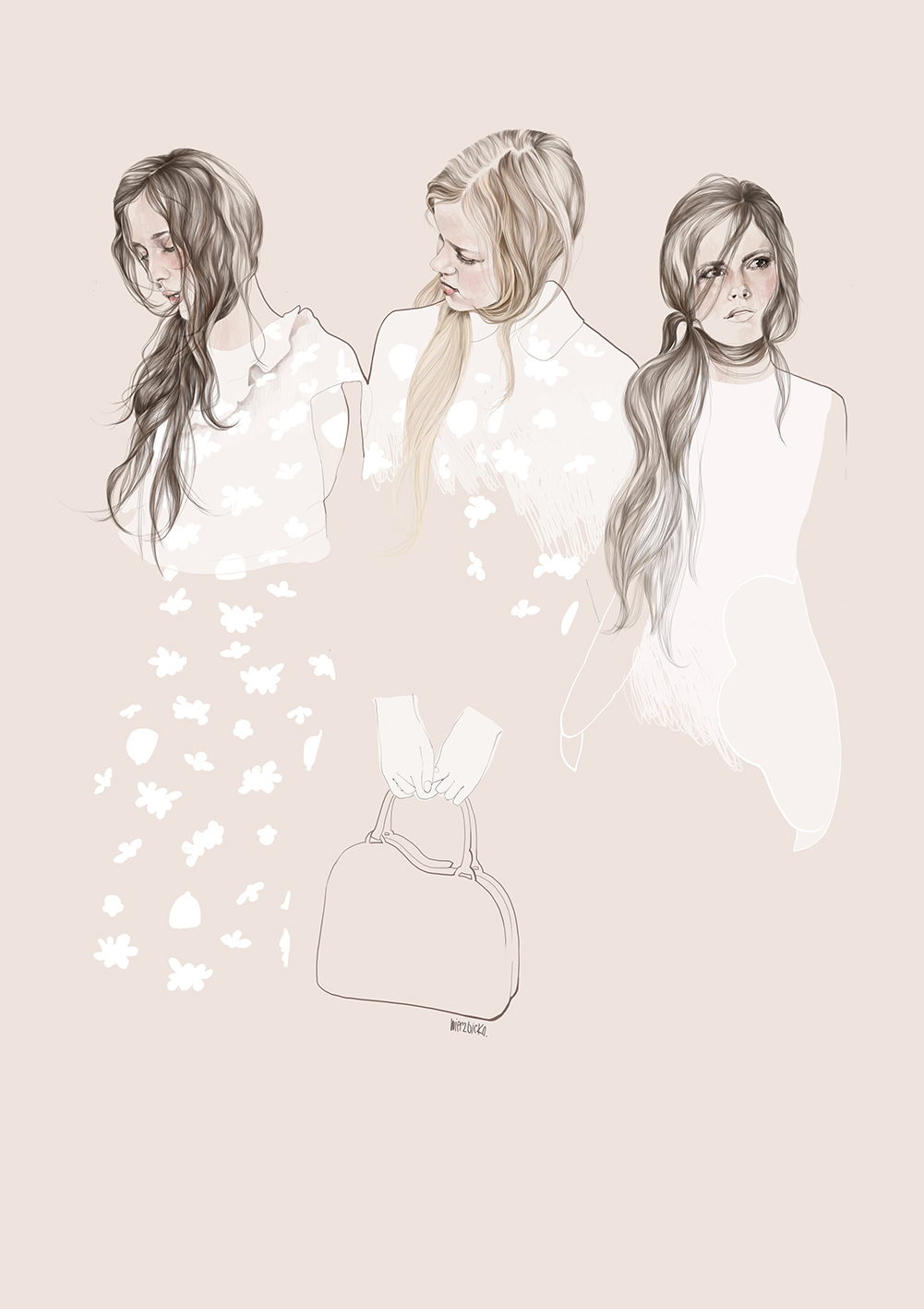 Simone Rocha_fashion illustration