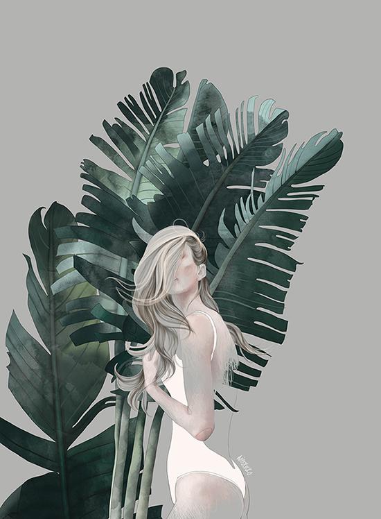 Futuristic Soldier Girl Wallpaper Wierzbicka Illustration Agata Wierzbicka Illustration
