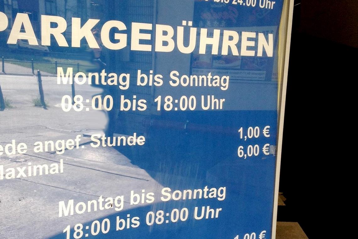Parkhaus Wiesbaden Preise