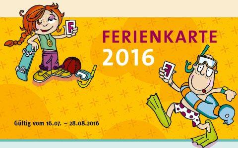 Archivbild: Ferienkarte 2016 der Landeshaupttadt Wiesbaden.