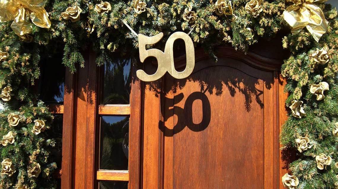 Hier wird gefeiert ... der 50ste ... Bild: Rolf / pixelio.de