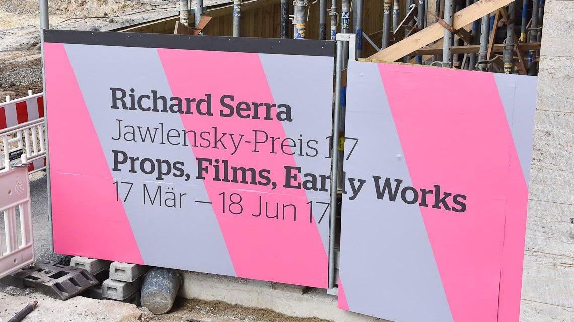 Richard Serra, Wiesbadens Schwergewicht