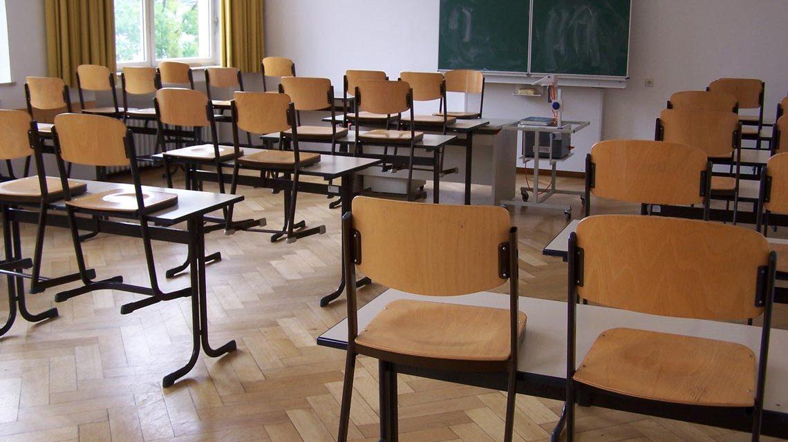 Klassenzimmer in der Fritz… Symbolbild: © 201703 Manfred Jahreis / pixelio.de