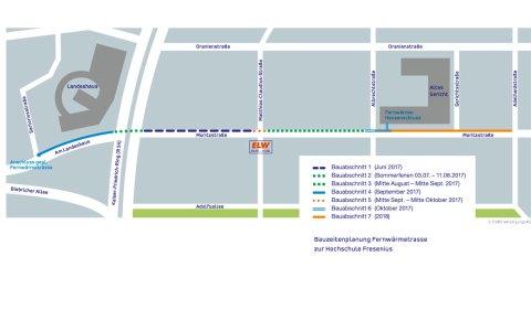Die ersten Verträge sind unterzeichnet. Am 6. Juni beginnen die Baumaßnahmen an der Moritzstraße. Bild: ESWE Versorgung
