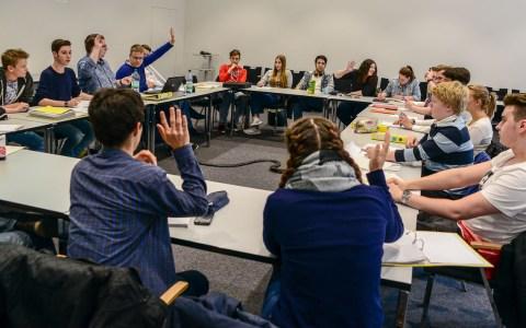 Sitzung des Jugendparlaments im Sommer 2016. Archivfoto: Volker Watschounek