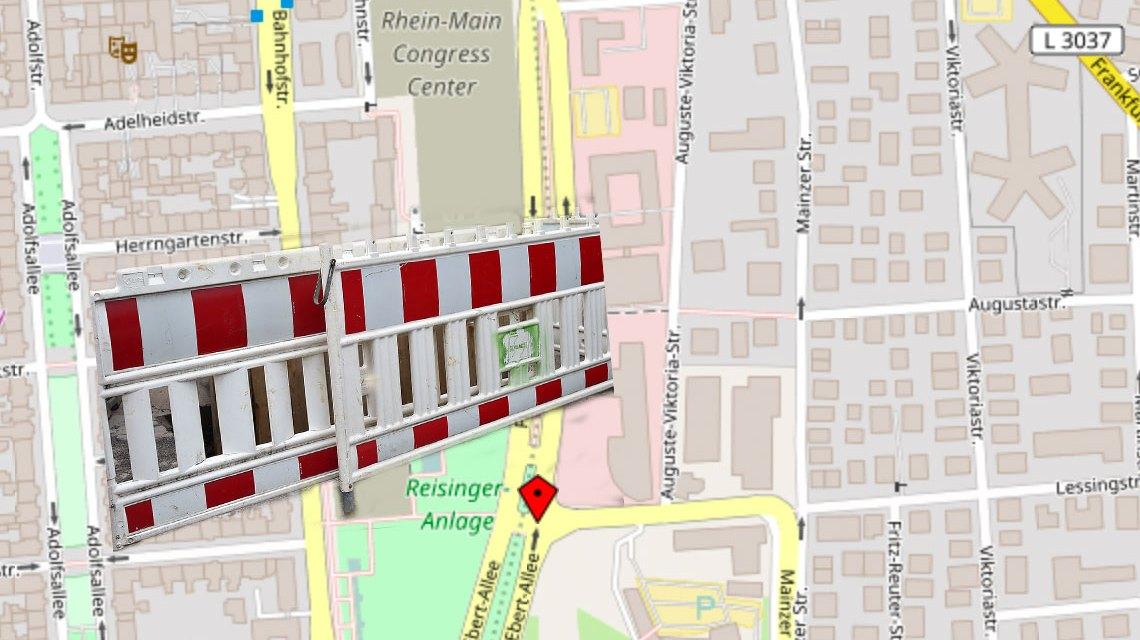 Straßenkarte, Ausschnitt. Bild: Volker Watschounek / Openstreet
