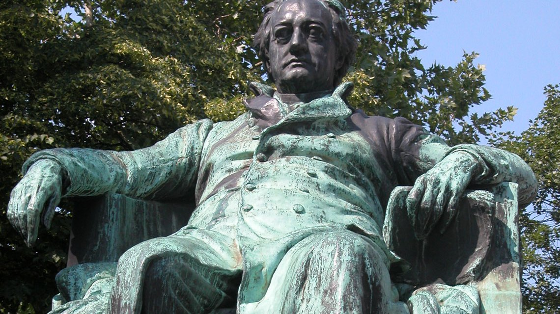 Goethe Denkmal in Wien. Bild: Robert Scarth / CC-BY / Flickr