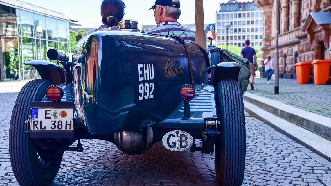 Start frei zur 34. Oldtimer Rallye Wiesbaden