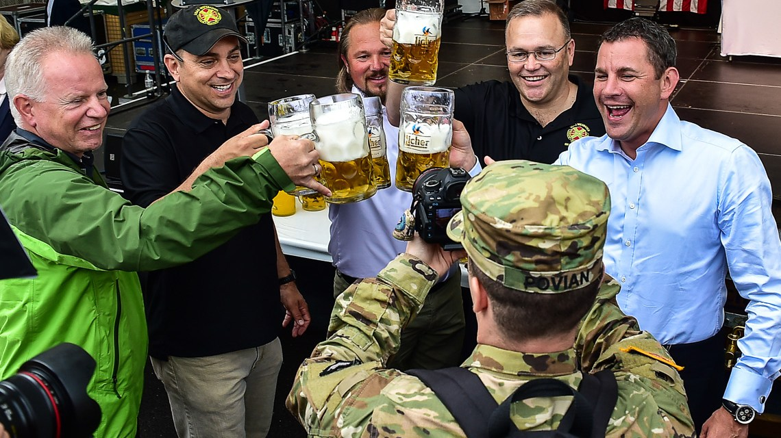 Das Deutsch-Amerikanische Freundschaftsfest ist eröffnet