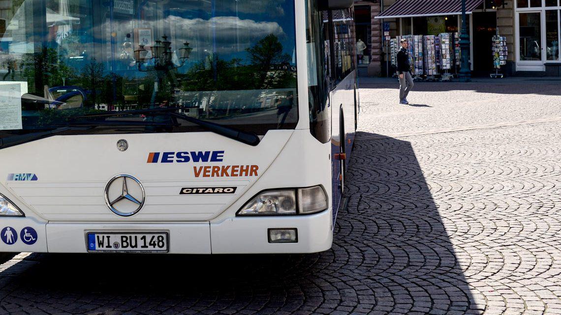 ESWE-Bus - Bild: Volker Watschounek