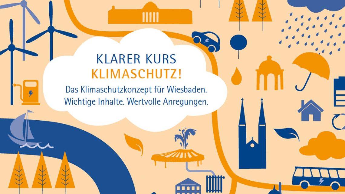 """Broschüre: """"Klarer Kurs - Klimaschutz!"""" Bild: Stadt Wiesbaden"""