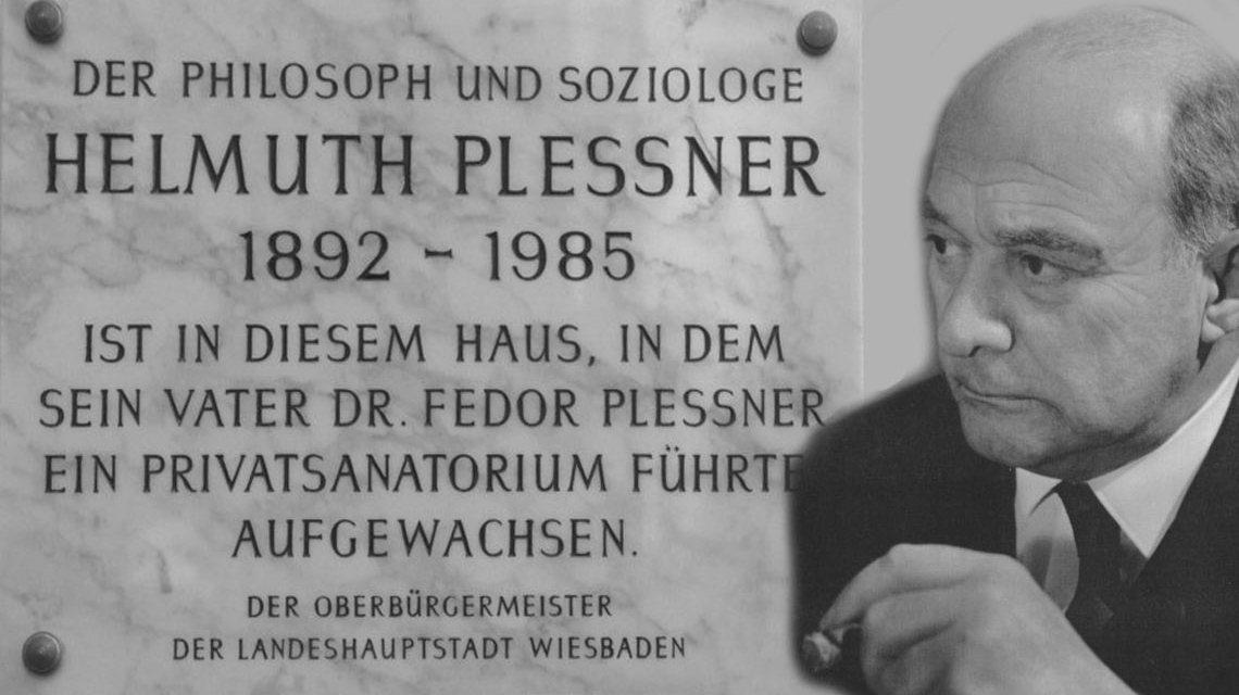 Helmuth Plessner Gedenktafel... Bild: Helmut Plessner Stiftung