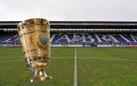 1. Hauptrunde im DFB Pokal, SV Wehen Wiesbaden empfängt Aue. Bild: Volker Watschounek