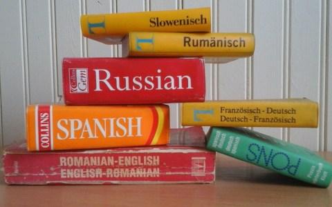 Wörterbücher - Bild: Pixabay, User Tessakay