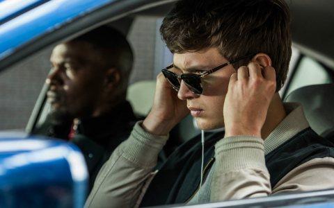 """Ansel Elgort und Jamie Foxx in """"Baby Driver"""". Bild: Sony Pictures Releasing GmbH"""