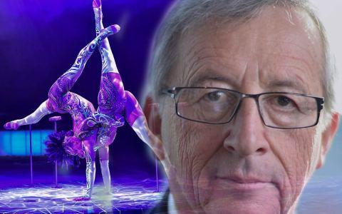Jean-Claude Juncker übetrnimmt Schirmherrschaft des European Youth Circus 2018. Bild: Wikipedia / Watschounek