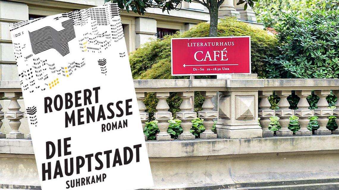 Robert Melasse berichtet aus Brüssel .. vergnüglich, authentisch. Bild: Volker Watschounek