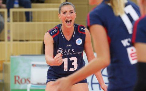Karolina Bednářová bleibt VCW-Mannschaftkapitänin Bild: Detlef Gottwald