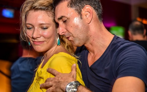 Salsa, ein Tanz mit Leidenschaft. Bild: Volker Watschounek
