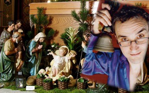Wer kennt ihn noch, den Weihnachtsmann? ©2017 Pressebild