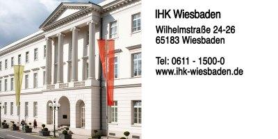 Die IHK Wiesbaden ist die Industrie- und Handelskammer für die Städte Wiesbaden und Hochheim am Main, sowie für den Rheingau-Taunus-Kreis.