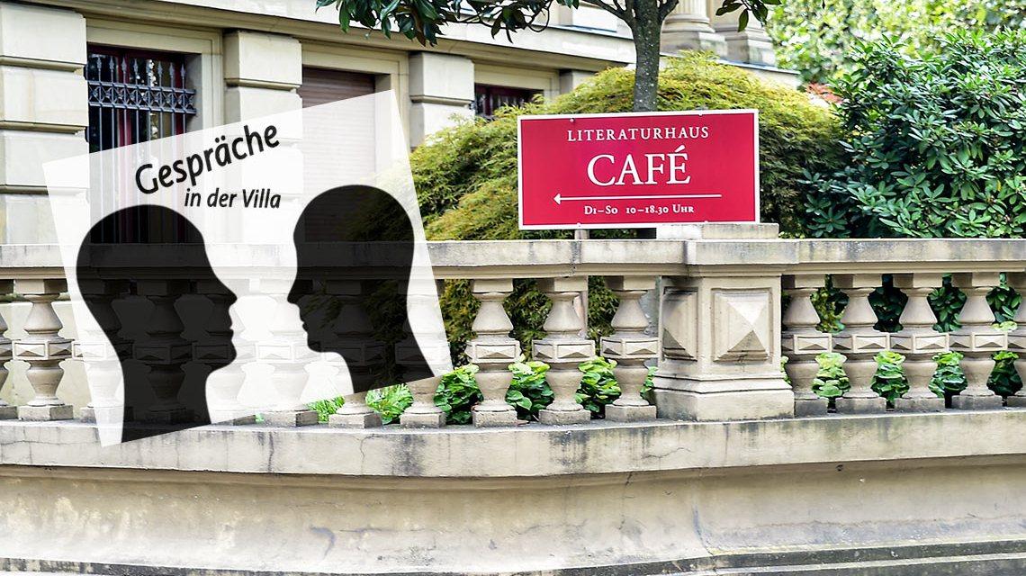 Hans Sarkowicz und Heiner Boehncke zu Gast in der Villa Clementine. ©2018 Volker Watschounek