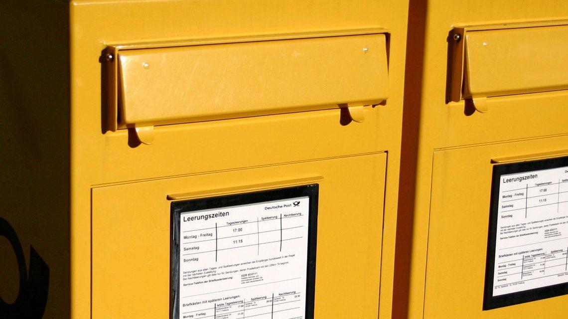 """Diese """"Filale"""" ist auch noch da, wenn der letzte Postbeamte seinen Schalter geschlossen hat. ©2018 Till Westermayer"""