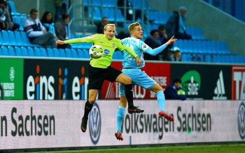 Chemnitz, Chemnitzer FV - SV Wehen Wiesbaden | 27. Spieltag |Nachholspiel | 2017.2018 | 1:4 ©2018 Frank Kruczynski