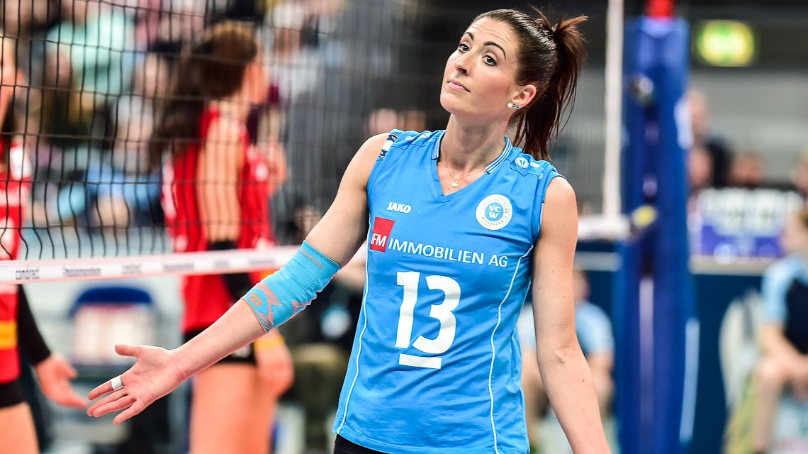 DVV-Pokal: Silbermedaille für Wiesbadens Volleyballerinnen