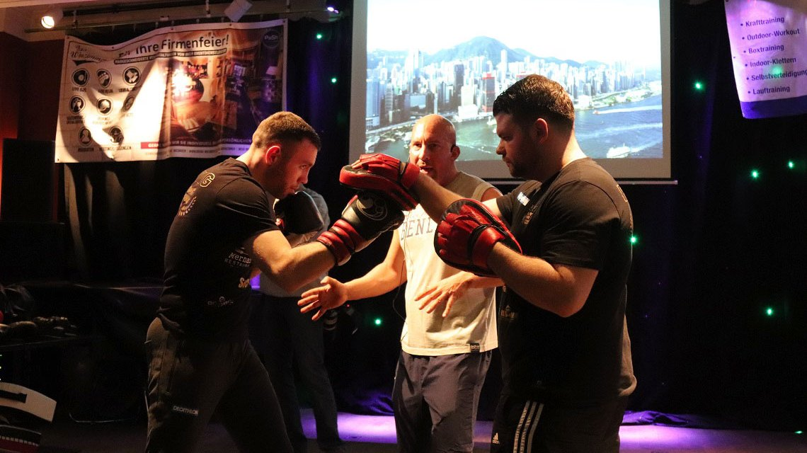 Beats and Boxing im Wohnzimmer