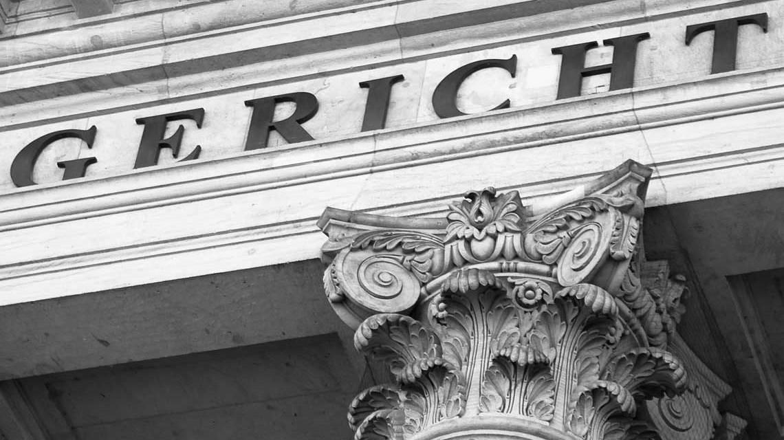 Gerichtsgebäude in Deutschland. ©2018 Michael Grabscheit / pixelio.de