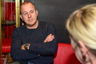 Der Schauspieler Heino Ferch im Gespräch mit Brigitte Lampert. ©2018 Volker Watschounek