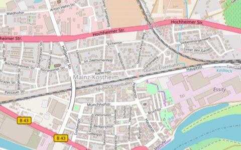 Kostheim ©2018 Openstreetmap