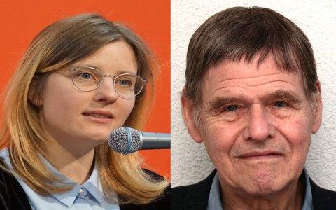 Lyrikpreis Orphil an Christoph Meckel sowie Debütpreis an Sibylla Vri?i? Hausmann. ©2018 Stadt Wiesbaden