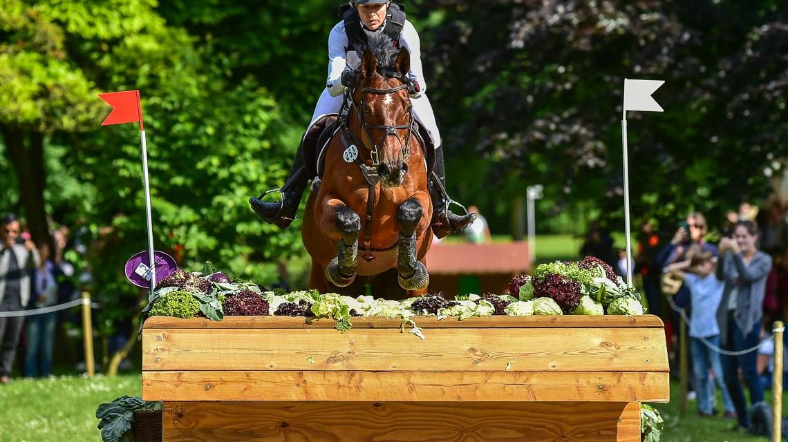 Zum fünften Mal ganz oben, Ingrid Klimke gewinnt die Vielseitigkeit