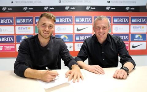 Freuen sich über die weitere Zusammenarbeit (v. l.): Maximilian Dittgen und Christian Hock (Foto: svww.de)