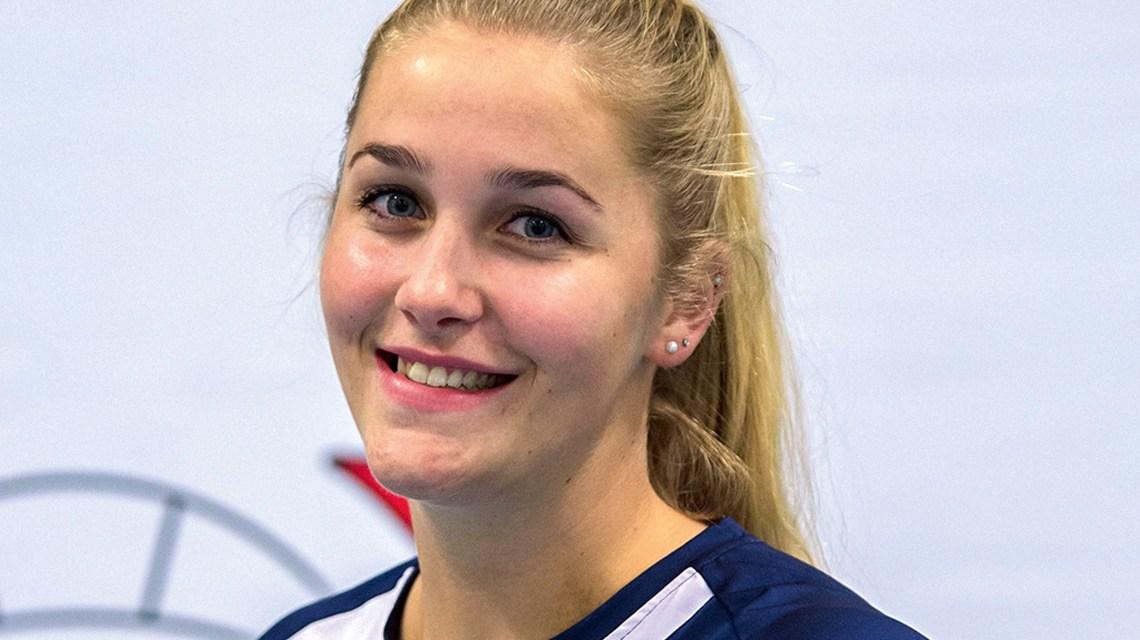 Die Niederländerin Nynke Oud schließt sich zur Spielzeit 2018/2019 den Hessinnen an. ©2018 Anders Johansson