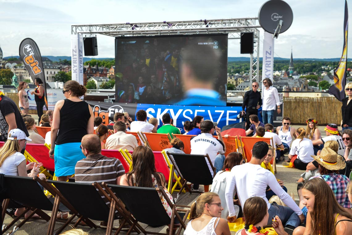Public Viewing Wiesbaden
