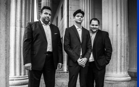 "Das Romeo Franz Ensemble lehnt sich an den ""Hot Club de France"" mit Stephane Grapelli und Django Reinhard an. ©2018Privat"