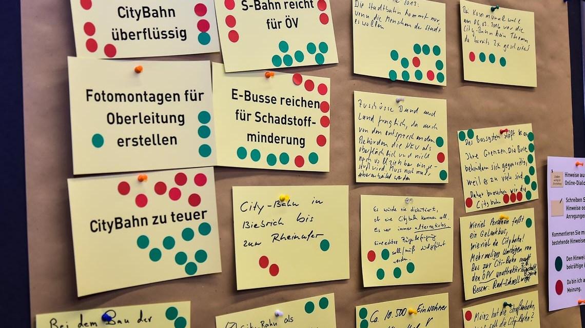 Archivbild: CityBahn Info-Messe an der Hochschule RheinMain. ©2018 Volker Watschounek