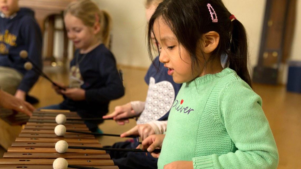 Musikalische Früherziehung an der Wiesbadener Musik und Kunstschule, WMK. ©2018 WMK