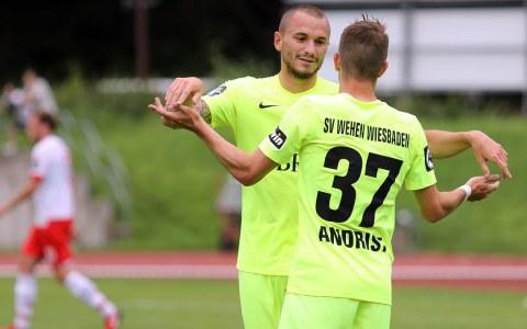 Archivbild: Testspiel Regensburg - SV Wehen Wiesbaden. 3. Ligist bezwingt 2. Ligist. ©2018 SVWW