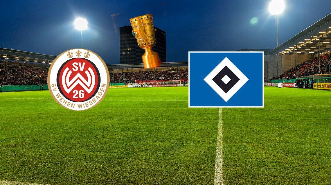 2. Runde DFB Pokal   30./31. Oktober   SV Wehen Wiesbaden - Hamburger SV