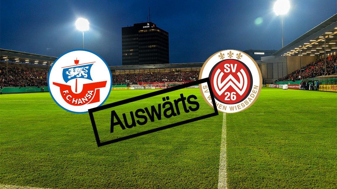 Fußball | 3. Liga | 2018.2019 | FC Hansa Rostock - SV Wehen Wiesbaden | 08.08.2018