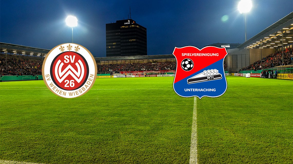 3. Liga | Saison 2018/2019 | 5. Spieltag | SpVgg Unterhaching - SV Wehen Wiesbaden © Wiesbaden lebt!