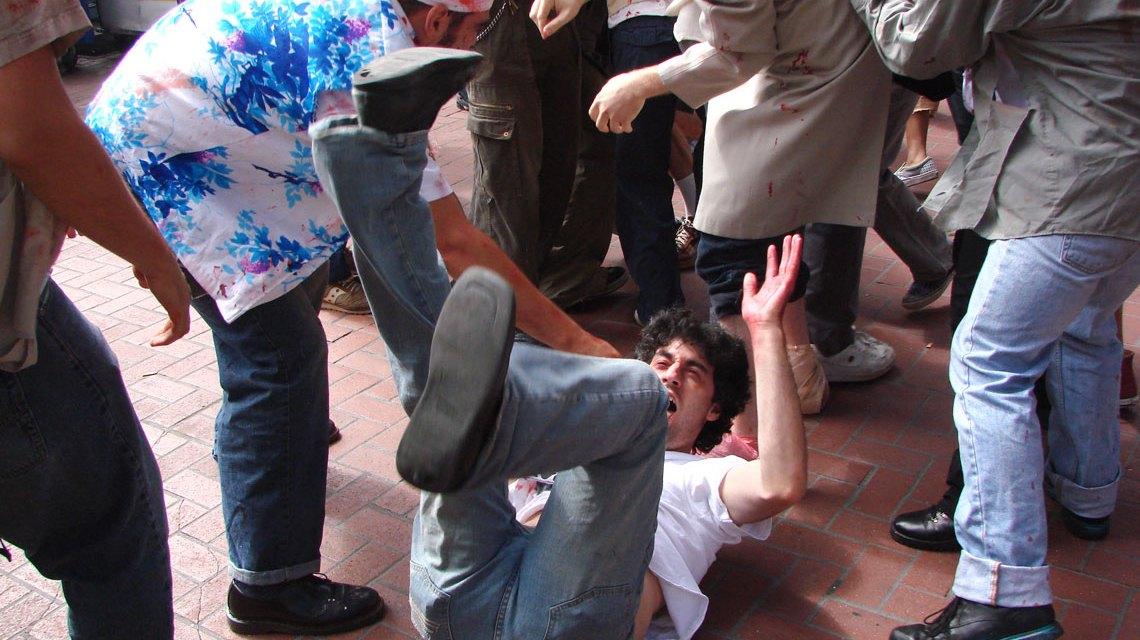 Zivilcourage zeigen, Gewalt-Sehen-Helfen. ©2018 Jere Keys / Flickr / CC BY 2.0