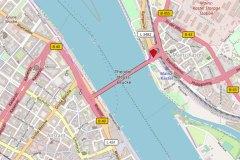 Mainz Kastel Brückenkopf. ©2018 Openstreetmap