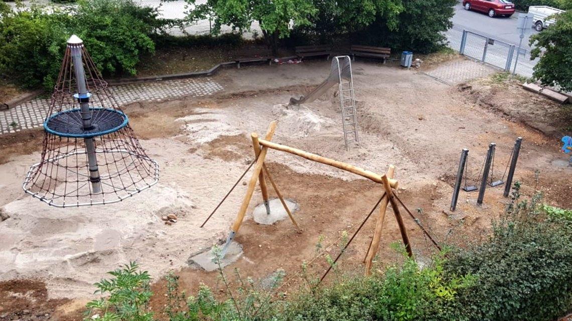 Spielplatz Emil Krag Straße. G2018 Loreen Albrecht