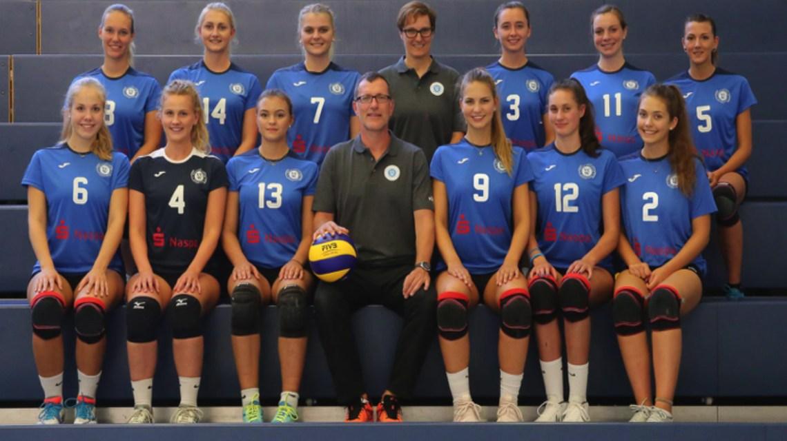 VC Wiesbaden II, die zweite Mannschaft spielt die Saison 2918.2019 in der zweiten Bundesliga. ©2018 Detlef Gottwald